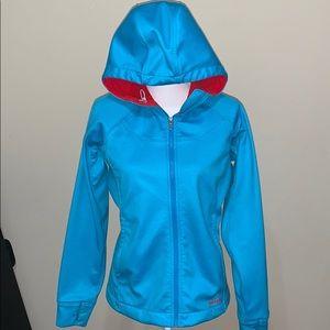 Patagonia fleece lined hooded jacket